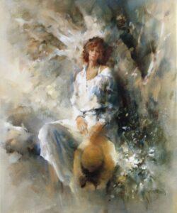 """Freedom"" by Willem Haenraets, original artwork"