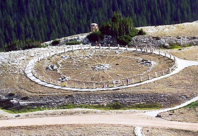 Bighorn Medicine Wheel near Sheridan, WY