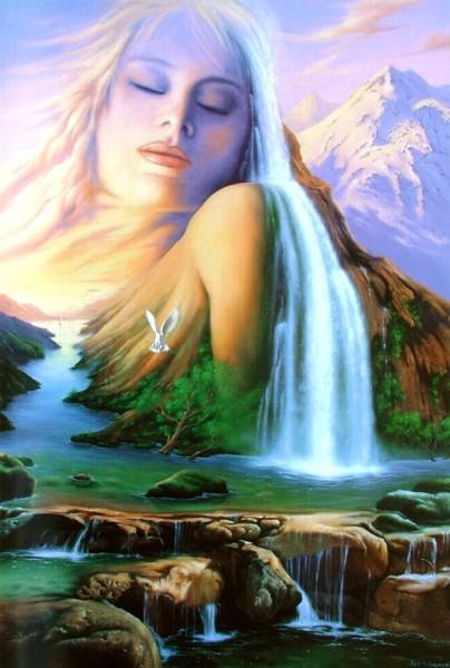 """""""Mountain Beauty"""" by Jim Warren, original oil on canvas"""