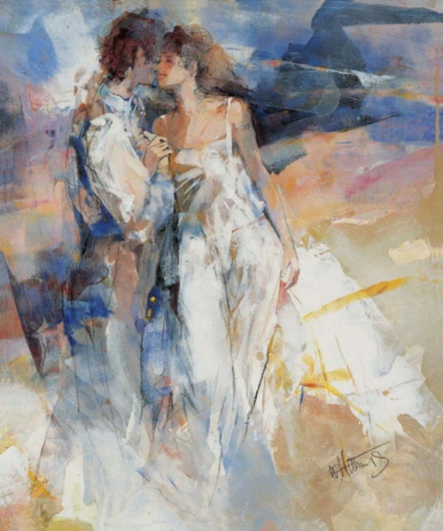 """My Love II"" by Willem Haenraets, original artwork"