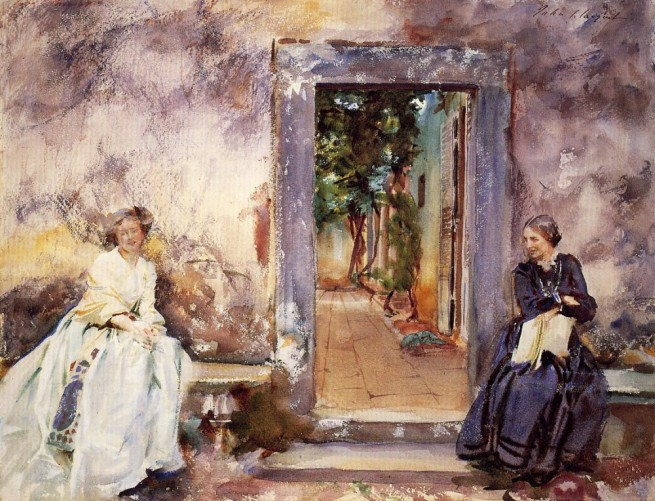 """The Garden Wall"" by John Singer Sargent, 1910"