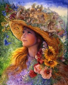 """Bygone Summers"" by Josephine Wall, original artwork"
