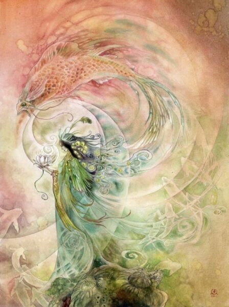 """Essence of Beauty"" by Stephanie Pui-Mun Law, watercolor, 2011"